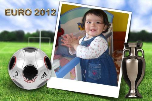 Marco para foto de la eurocopa 2012