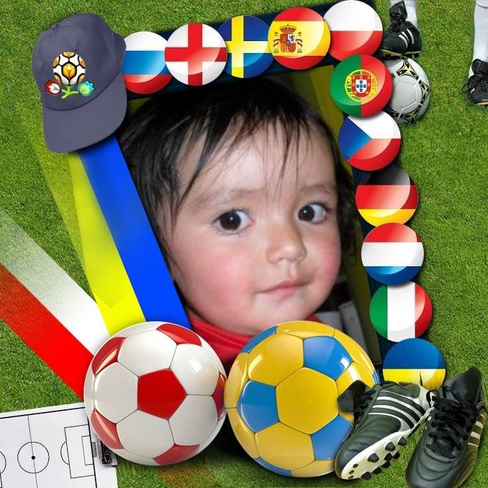 Marco para fotos de la euro 2012