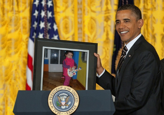 Fotomontaje gratis de Obama
