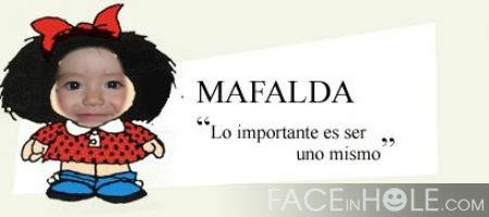 Montaje en mafalda
