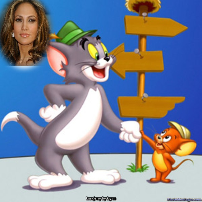 Fotomontaje gratis de Tom y Jerry