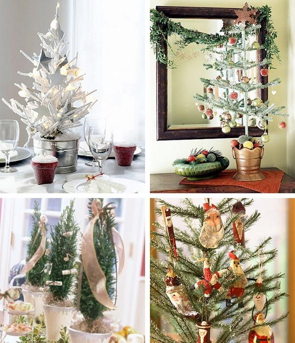 40 Ideas para árboles de navidad de mesa-01
