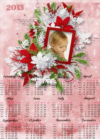 Hacer calendarios personalizados del 2013