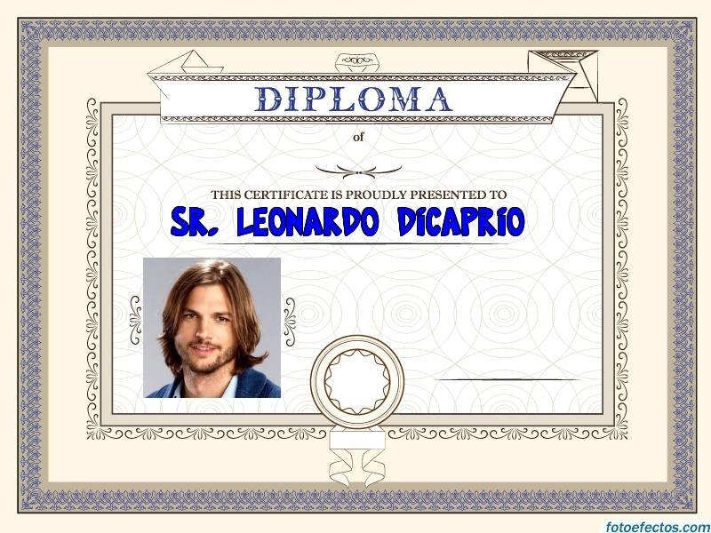 Diplomas para editar gratis