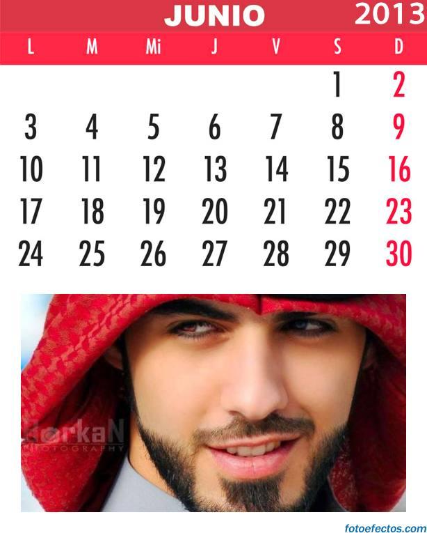 celendario mensual