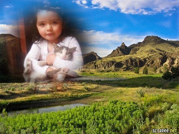 Fotomontajes en paisajes naturales
