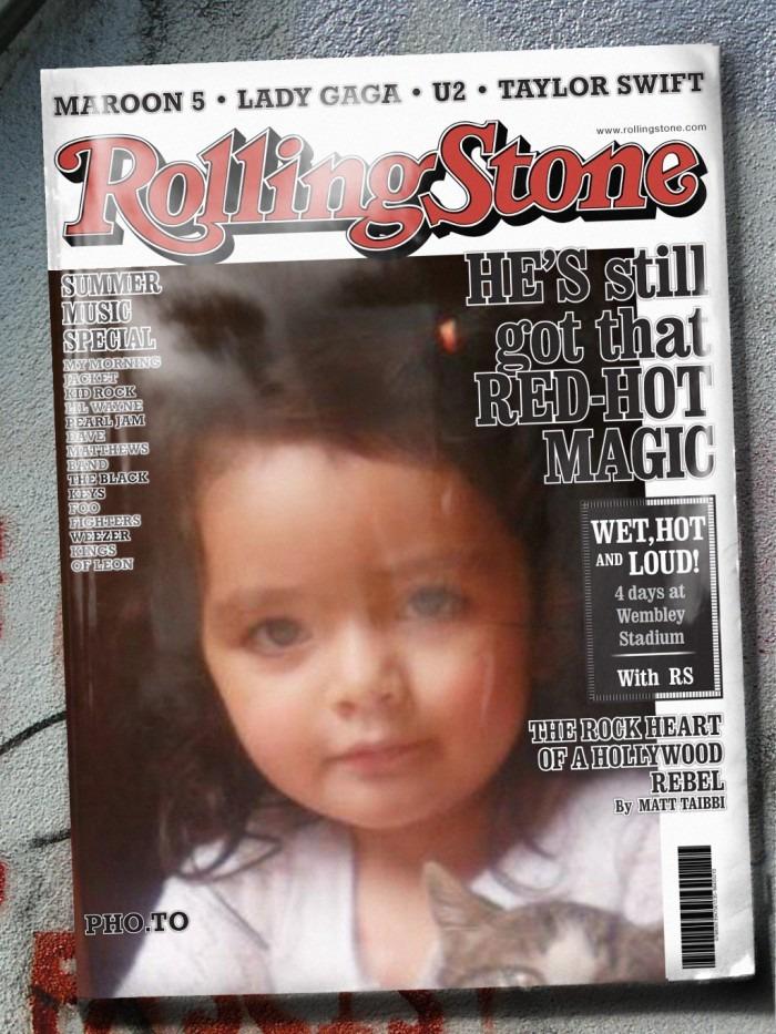 Fotomontajes en revistas famosas gratis