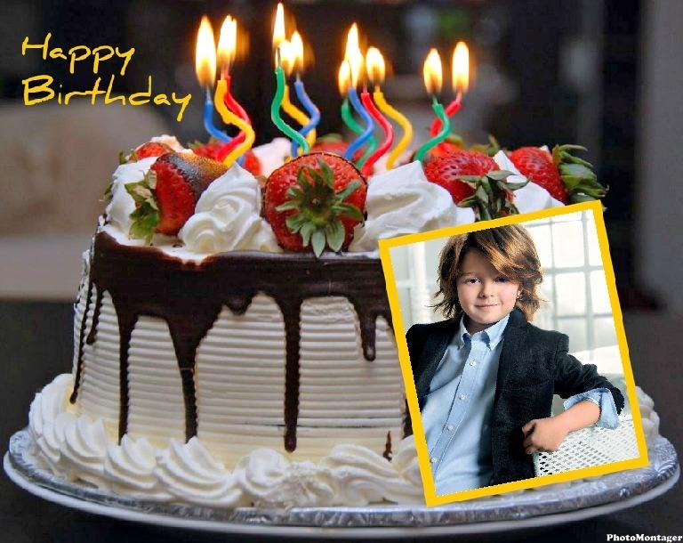 Marcos para fotos de feliz cumpleaños