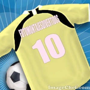 Personaliza camisetas de futbol