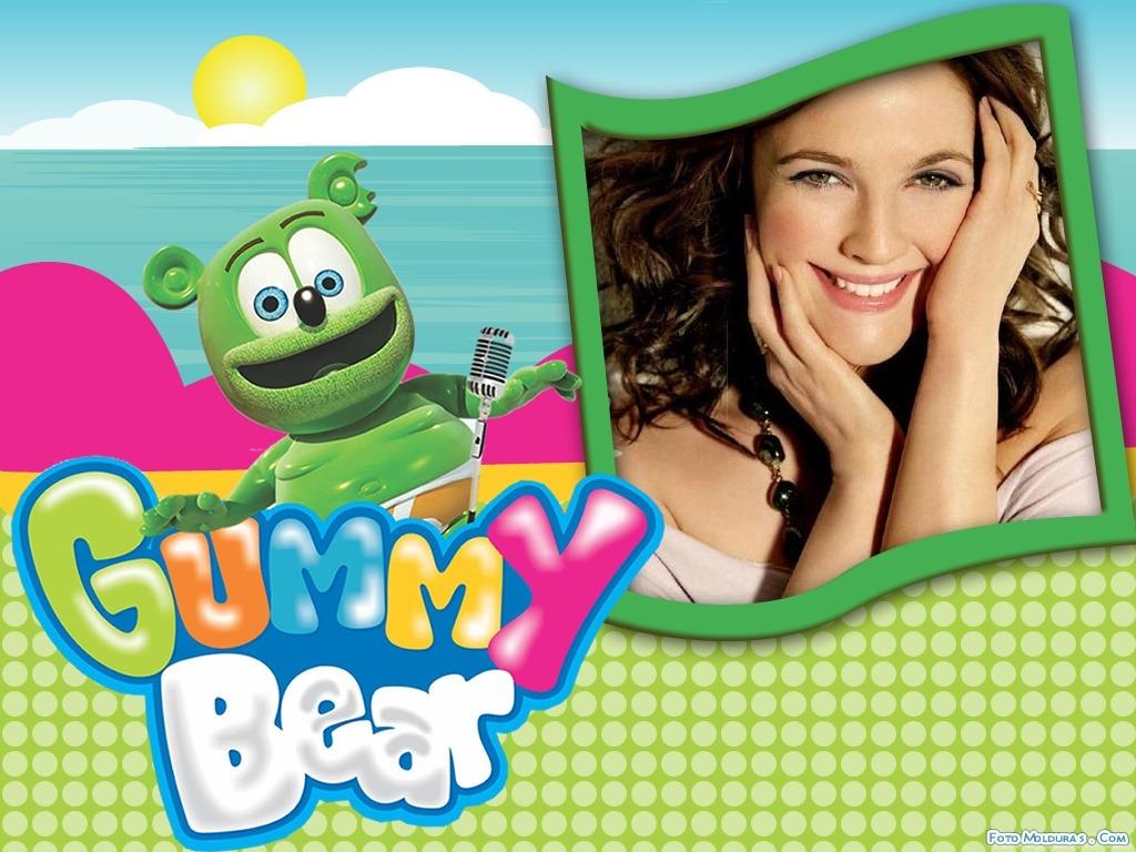 marcos para fotos infantiles con Gummy Bear