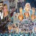 Fotomontaje de carnaval de rio