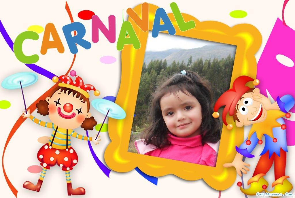 Marcos para fotos de carnaval