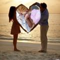 Fondo con imagen de amor para fotos