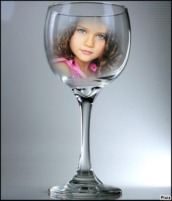 editar fotos gratis en copa de cristal