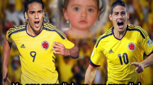 Fotomontaje con james y falcao