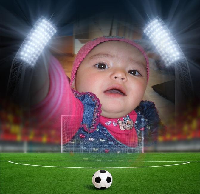 Fotomontaje de fútbol gratis | Fotomontajes Divertidos