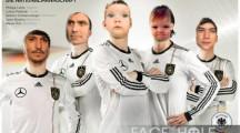 Fotomontajes con los rostros de la selección de Alemania