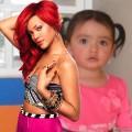Fotomontaje de famosos Rihanna