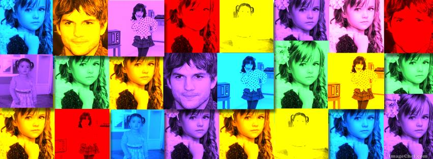 collage de colores para portada de facebook