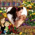 Hermoso fotomontaje por el día de la madre
