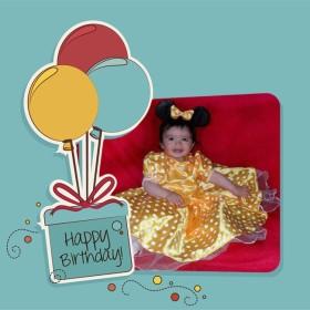 fotomonte con globos feliz cumpleaños
