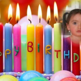 Original fotomontaje de feliz cumpleaños