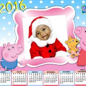 calendario 2016 infantil