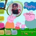 Calendario gratis de peppa pig 2016