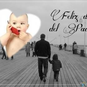 Fantastico fotomontaje por el día del padre