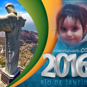 Fotomontaje de Olimpiadas de Rio 2016