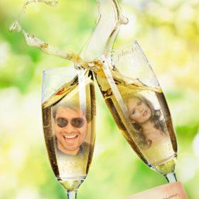 collage en copas para amores romanticos