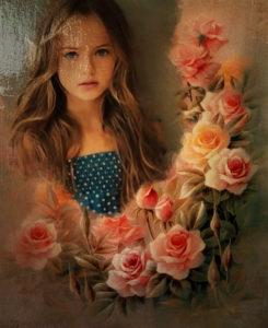 Crea Los Mejores Recuadros De Rosas Para Chicas Fotomontajes