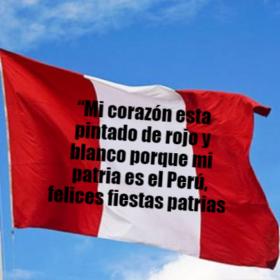 Editar frases por el día de la independencia del perú