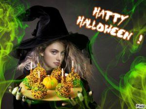 Fotomontaje de halloween gratis online