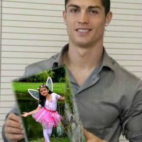 Cristiano Ronaldo cogiendo tu foto